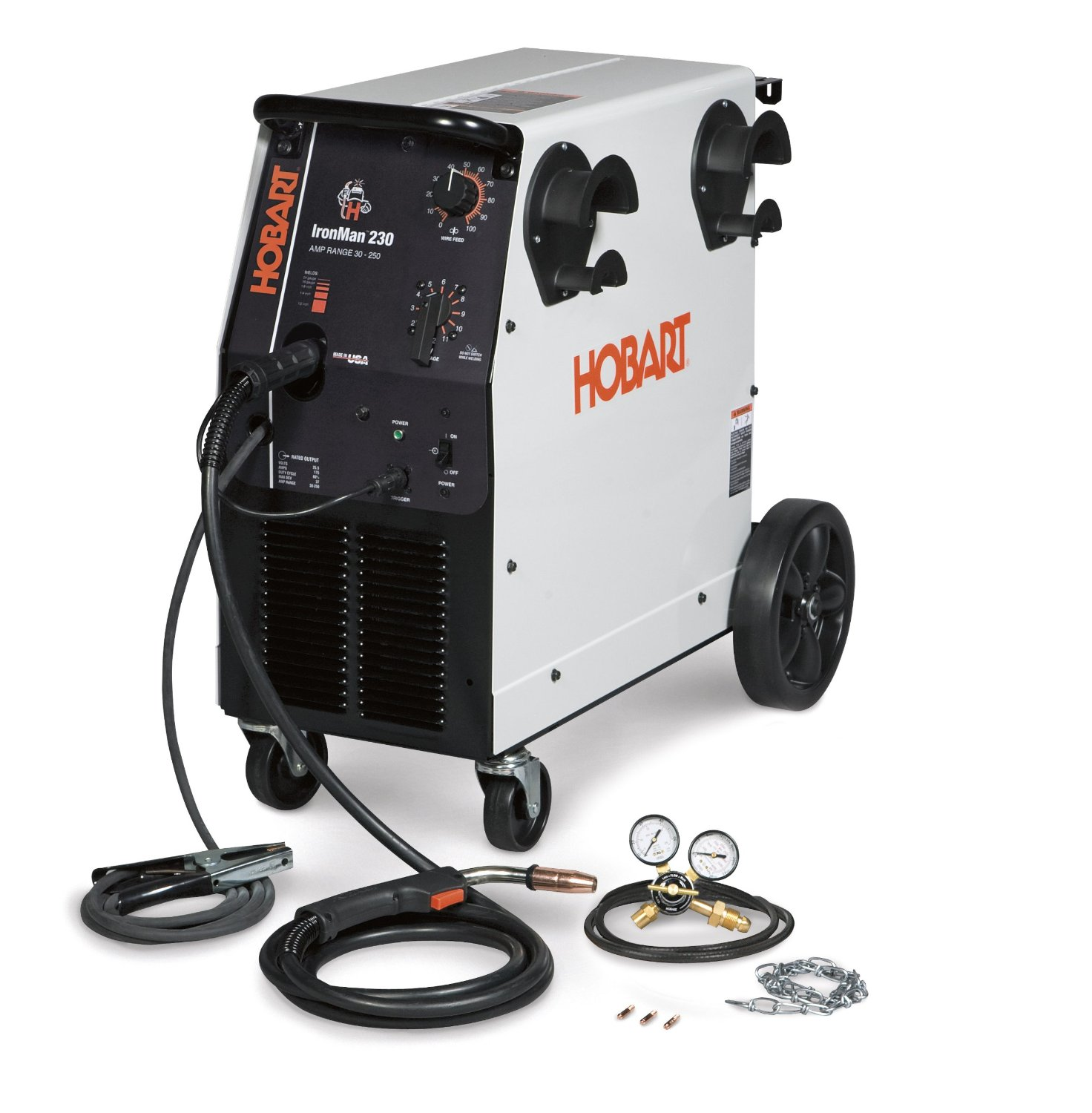 Hobart Ironman 230 Review - Best 250 AMP MIG Welder 2018